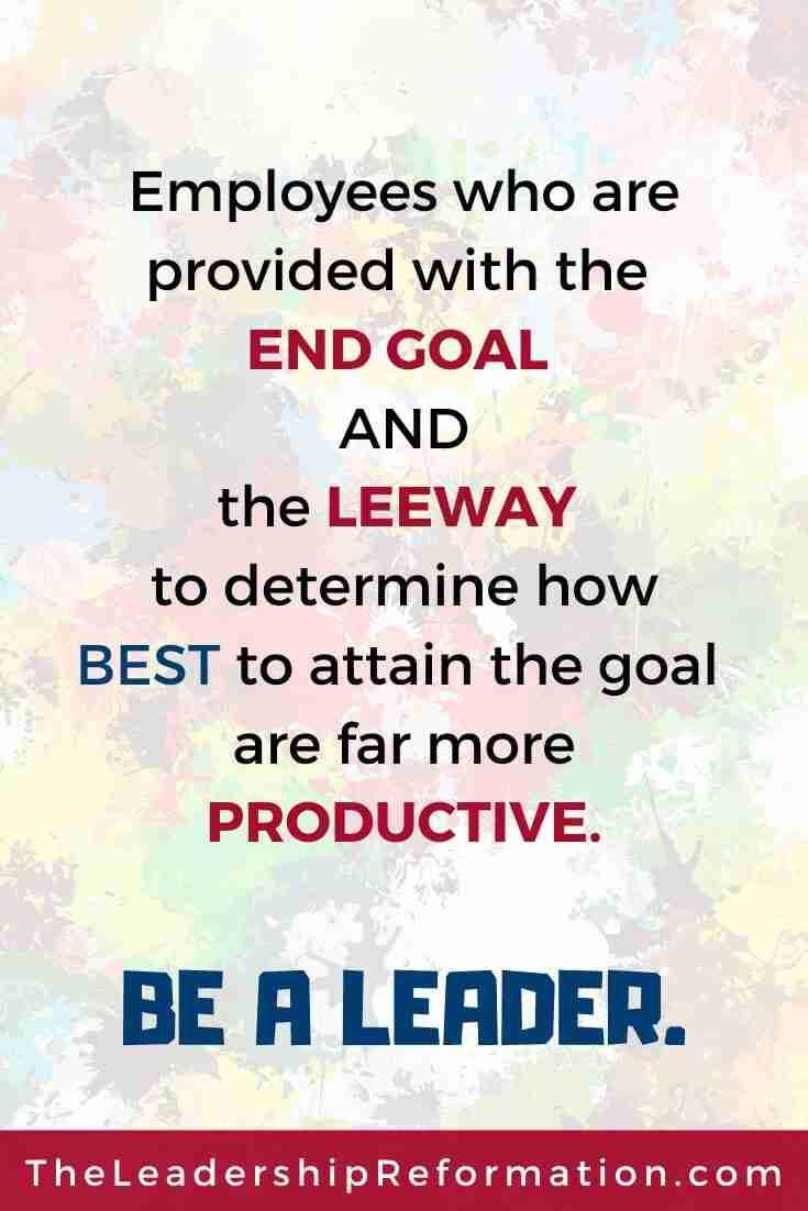 Leadership Empowering Team