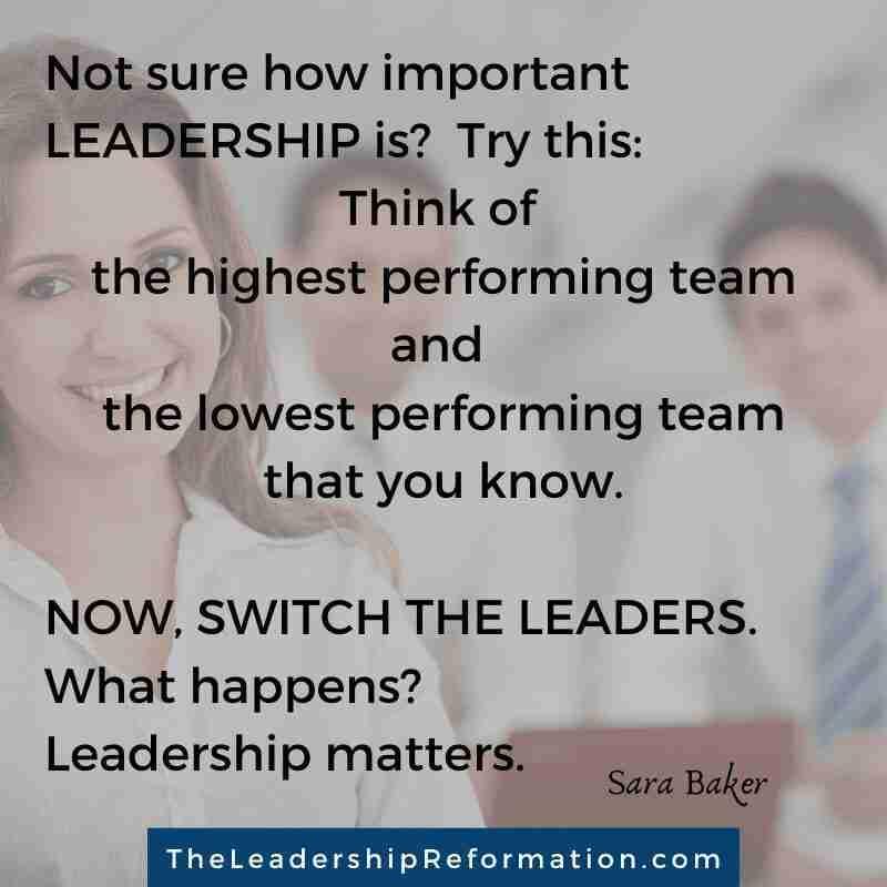 Leadership Matters Quote SB