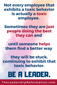 Coaching Toxic Employees Toxic Workplaces Communication Leadership Development