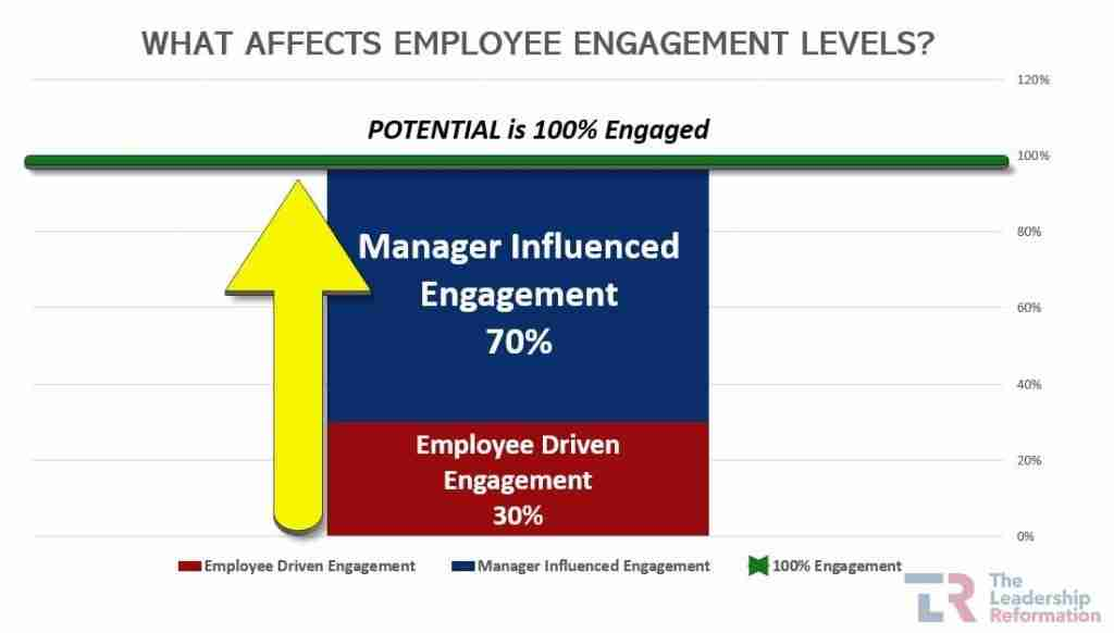 Employee Engagement Effect of the Manager Leader Leadership Development