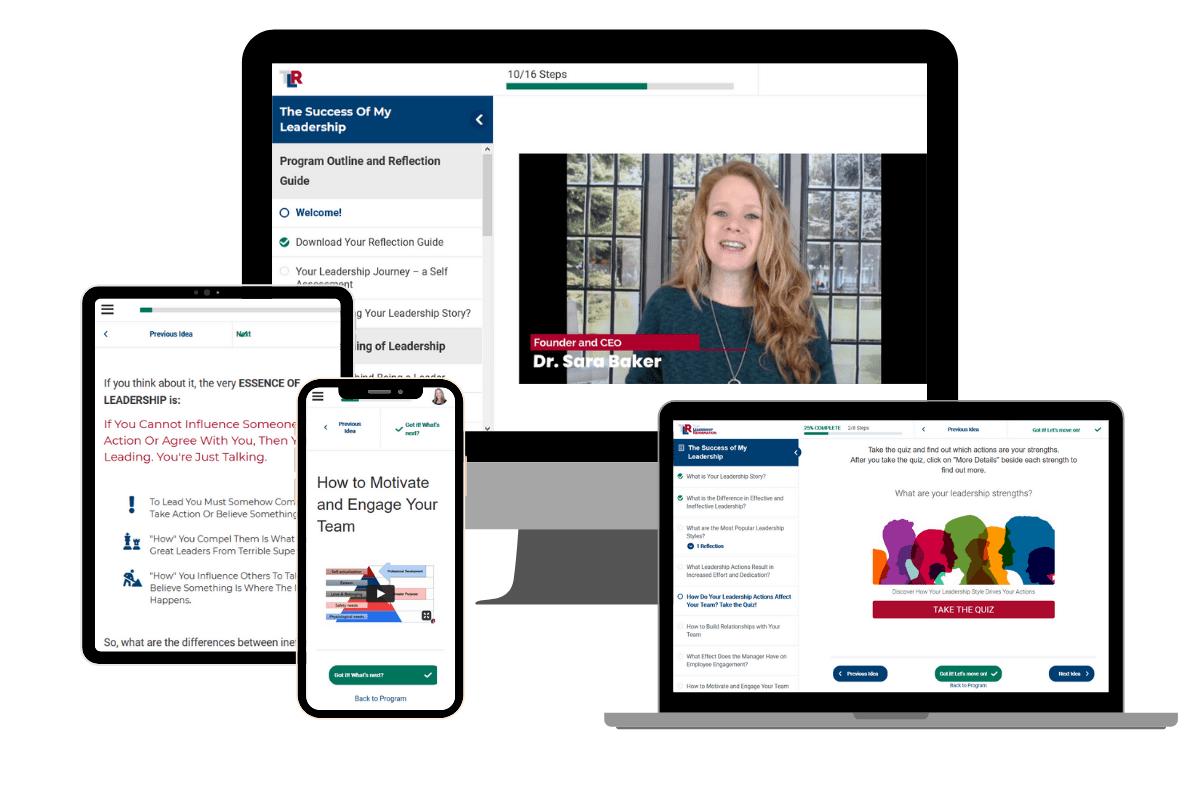 Success of My Leadership Program Leadership Development Online Course