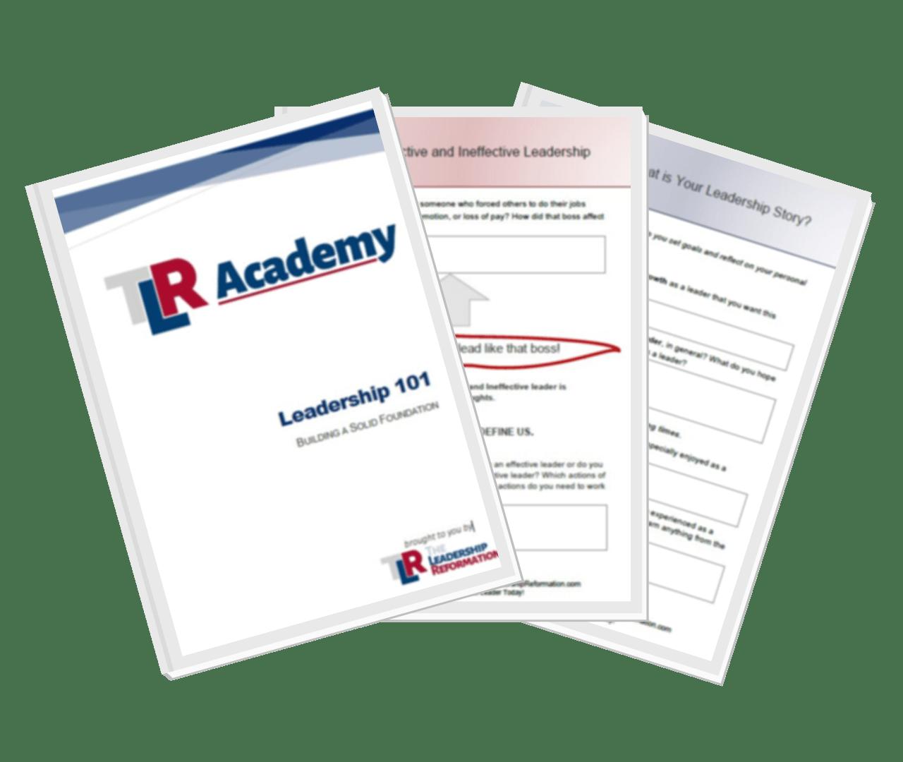 Leadership 101 Workbook
